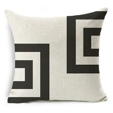 Bohemian & Moroccan Geometric Cotton Linen Pillow Case Square Cushion Cover