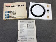 HP Miniature HFBR-0200 Fiber Optic Logic Link Kit | New Unused