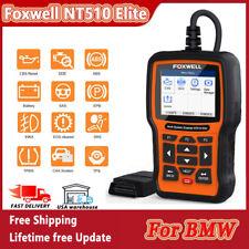 Foxwell OBD2 Car Scanner For BMW SAS ABS SRS DPF EPB Diagnostic Tool NT510 Elite