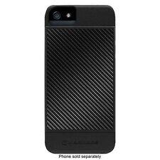Marware Revolution Carbon Fiber Case / Black / 3 Piece Cover for iPhone 5/5S/SE