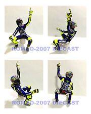 1:12 Conversión Minichamps Figure Figurine Valentino Rossi Winner 2014 Misano