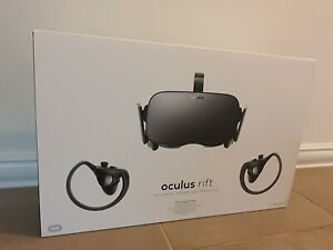 Oculus Rift - CV1 Headset With Touch Controllers And 2x Sensors