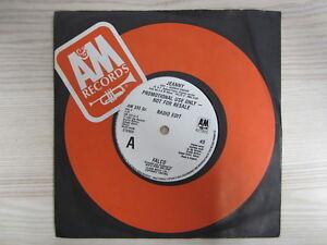 Single /  Falco – Jeanny / PROMO / MUSTER / TOP RARITÄT / 1985 / MINT /
