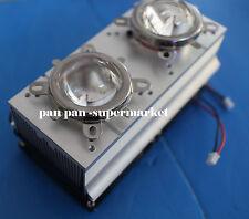 90° 44mm Lens+Reflector Bracket+100W LED Aluminium Heat Sink Cooling fan