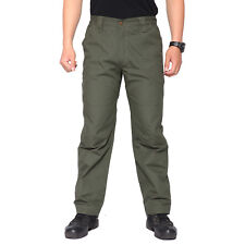 Mens Outdoor Tactical Ripstop Cargo Pants Military Workout Police Pants Trouser