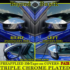 2013-2016 FORD ESCAPE Chrome Mirror Covers Fits Mirrors Without Turn Signal