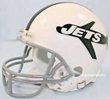 NEW YORK JETS (1963 Throwback) Riddell VSR4 Mini Helmet