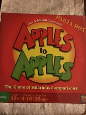 Apples To Apples Party Box Family Game New Sealed 2007 Mattel