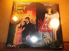 House Of Dark Shadows/Night Of Dark Shadows 2-Laserdisc Ld Double Feature Sealed