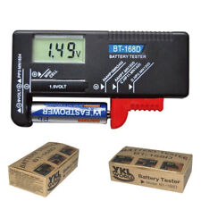 Digital Household Battery Checker for 9V 1.5V AA AAA Small Batteries Button Cell