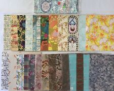Lot of Vintage Gift Wrap Wrapping Paper, Various Occasions (RF723)