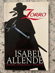 Zorro Graphic Novel Dynamite Entertainment TPB Comic Book Isabel Allende V1 J588