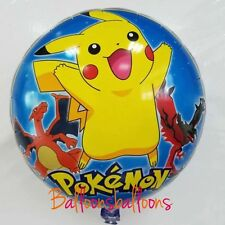 "18"" Pokemon Go Balloon Helium Party Birthday Decoration Pikachu"