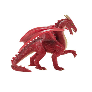 Mojo RED DRAGON Fantasy action toys figures play models plastic mythical legend