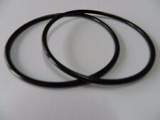 2 Pièces Courroies de Transmission pour Bande Magnétique Etc. 350 mm X 3,0 MM