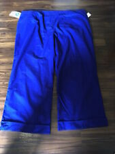 Landau Women's Plus size 28P w/4 Pockets Zips up front Scrub Pant Uniform