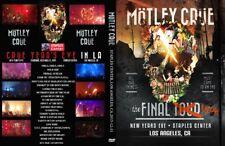 Motley Crue 2015 Staples Center in Los Angeles Last Concert DVD