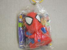 1999 BANDAI Banpresto SPIDER-MAN  Soft Vinyl Bank Figures MARVEL COMICS Original