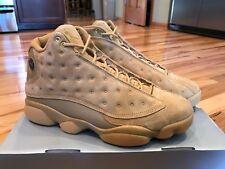 Nike Air Jordan 13 Retro Wheat Elemental Gold Brown Flax 414571-705 Size 10
