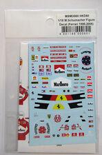 1/18 M.Schumacher Figure Decal Ferrari 1996-2006 for Minichamps