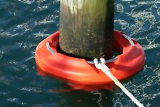 Pile Ring 550-Orange - Revolutionary All-tide, All-Weather, Boat Mooring Device