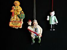 3 Dentist Themed Christmas Ornaments