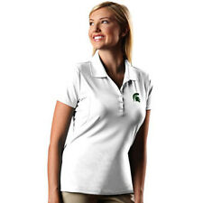 Michigan State Spartans Ladies Embroidered Polo Shirt XS-6XL New