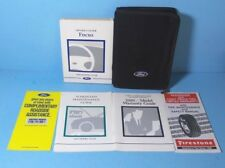 00 2000 Ford Focus owners manual