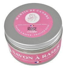 Martin de Candre Rose Luxurious Shaving Soap For Sensitive Skin 200g 100% Vegan