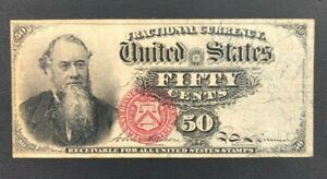 4th Issue 50 Cent Fractional Currency - Stanton