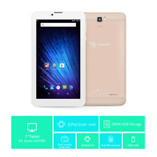 """Unlocked GSM 3G phablet 7"""" Tablet Android6.0 Dual SIM Smart Phone 8GB"""