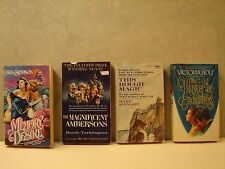 Lot Of 4 Paperback books, by Simpson, Tarkington, Stewart and Holt