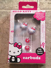 NEW HELLO KITTY EAR BUDS HIGH QUALITY SOUND EARBUDS KAWAII HEADPHONES HEAD PHONE