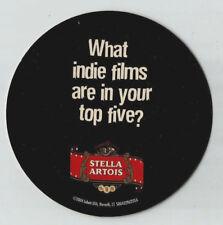 12 Stella Artois Sundance Film Fest Top 5 Indie Films  Beer Coasters