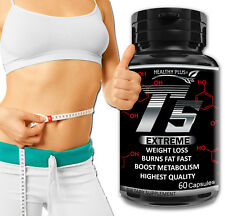 60 Capsules T5 FAT BURNER GARCINIA CAMBOGIA Extreme Weight Loss Less Fat Detox