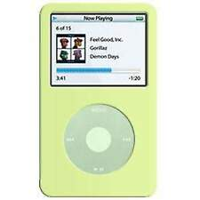 AMZER Soft Skin Fit Case Cover With Belt Clip for iPod Video 60GB 80GB - Green