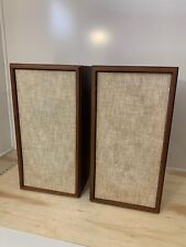 Vintage KLH Model Twenty 20 | Floor Speakers | 4-Ohms Audiophile | Cambridge MA