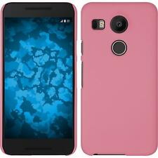 LG G Flex 2 Case Hardcover Rubberized Pink