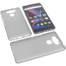 Custodia Per Archos Diamond 2 Plus Cellulare Cover Protettiva TPU Gomma Grigio
