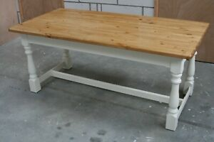Farmhouse Refectory Kitchen Dining Table