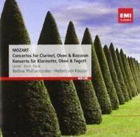 Herbert Von Karajan - Mozart Concertos For Clarinet Oboe B (NEW CD)