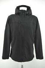BERGANS OF NORWAY Mens Jacket 7020 Kjereg Jacket Hooded Black Coat Size M