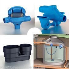 Regenwasserfilter, 3P Sinusfilter Spar Set, für den Einbau in eine Zisterne