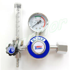 AR Gas Flowmeter Pressure Argon Regulator Reducer For Tig Welding Gas Tank G5/8