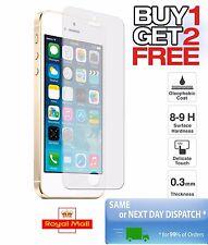 Compre 1 lleve 2 Gratis Protector de Pantalla de Vidrio Templado para Apple iPhone 5/5c/5s/se