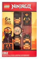 LEGO® Ninjago Cole Minifigure Link Watch Build Your Own Colours