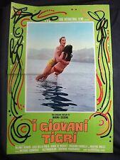 LOCANDINA CINEMA - I GIOVANI TIGRI - H. BERGER - 1967 - DRAMMATICO