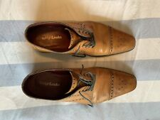 Men's Design Loake Lace Up Shoes Light Brown. Size 11. Used.
