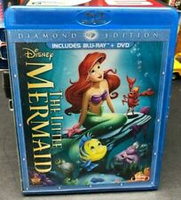 The Little Mermaid Diamond Edition Blu Ray and DVD