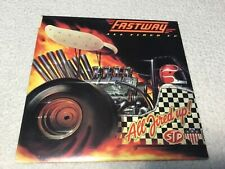 Fastway All Fired Up Vinyl Record LP